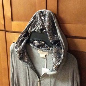 Michael Kors Sequined Hoodie
